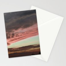 Pink Sunset, Macomb IL Stationery Cards