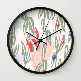 Planting The Social Life Wall Clock