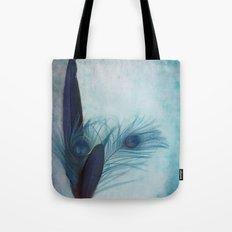 Peacock Blue Tote Bag
