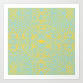 Lace Variation 09 Art Print
