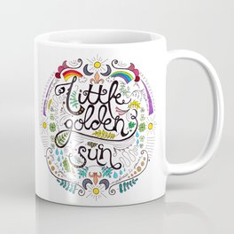 Little Golden Sun Coffee Mug