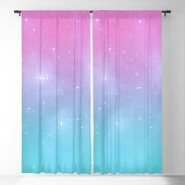 Pastel Goth Galaxy Blackout Curtain