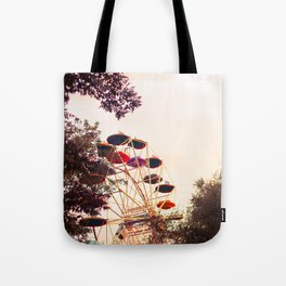 Ferris & The Red Sunset Tote Bag
