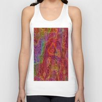 bands Tank Tops featuring Bands II by RingWaveArt
