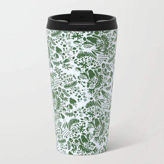 green garden Metal Travel Mug