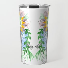 The flowers twins Travel Mug