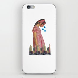 Teary Cities iPhone Skin