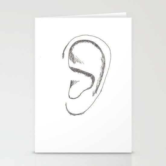 an earful Stationery Cards