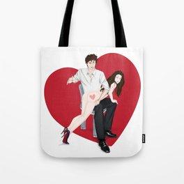 spanky panky (white) Tote Bag