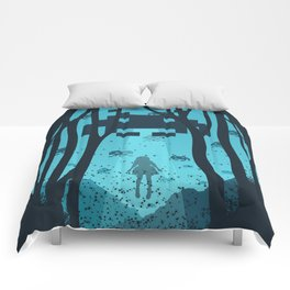 8 Bit Invasion Comforters