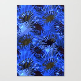 Ocean View Fireworks Canvas Print