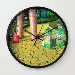 Dorothy is missing - Dorothy a disparu Wall Clock