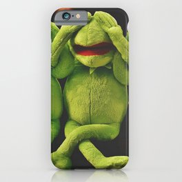 Hear No Evil, See No Evil, Speak No Evil--Haha! iPhone Case