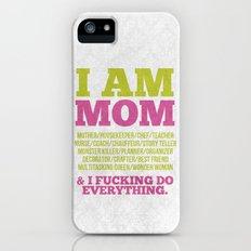 I am Mom iPhone (5, 5s) Slim Case