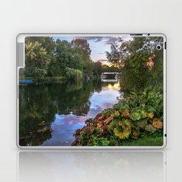 The Thames At Pangbourne Laptop & iPad Skin