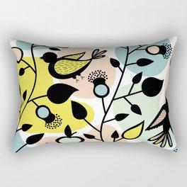 The pastel forest Rectangular Pillow