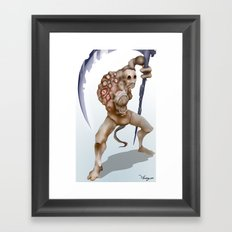 Creature Design Framed Art Print