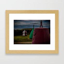 The Lizard Lighthouse Framed Art Print