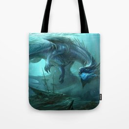 Blue Dragon v2 Tote Bag