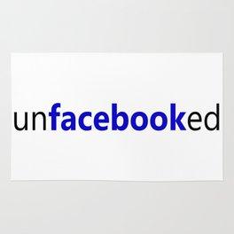 UnFacebooked - Facebook Deleted Rug