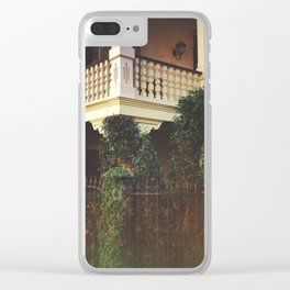 Southern Charm Clear iPhone Case