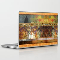 western Laptop & iPad Skins featuring WESTERN GOLD by INA FineArt