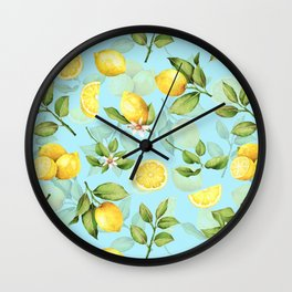 Vintage & Shabby Chic - Lemonade Wall Clock