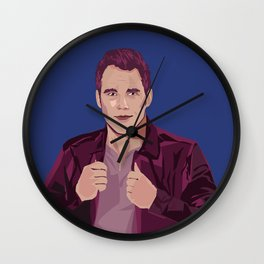CHRIS PRATT AS PETER QUILL Wall Clock