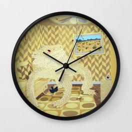 Horned Lizard Wall Clock