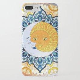 Sun and Moon Mandala iPhone Case
