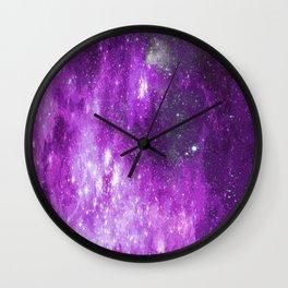 purplespace Wall Clock