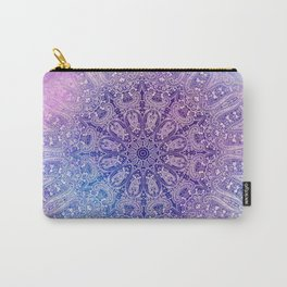 big paisley mandala in light purple Carry-All Pouch