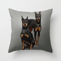 Leo & Libra Throw Pillow