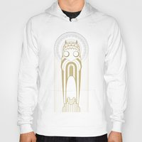 art deco Hoodies featuring Art Deco by Mrs.Kirki