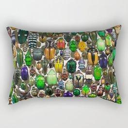 Beetle Mania Rectangular Pillow