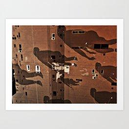 Cairo Ghosts Art Print