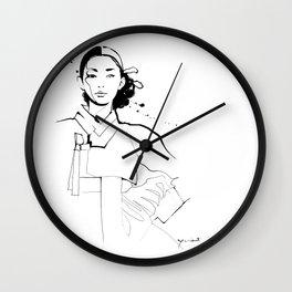 Ethnic Beauty - Korea Wall Clock