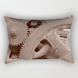 Big Gears (sepia ) Rectangular Pillow