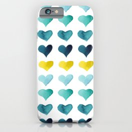 Hearts of the Sea iPhone Case