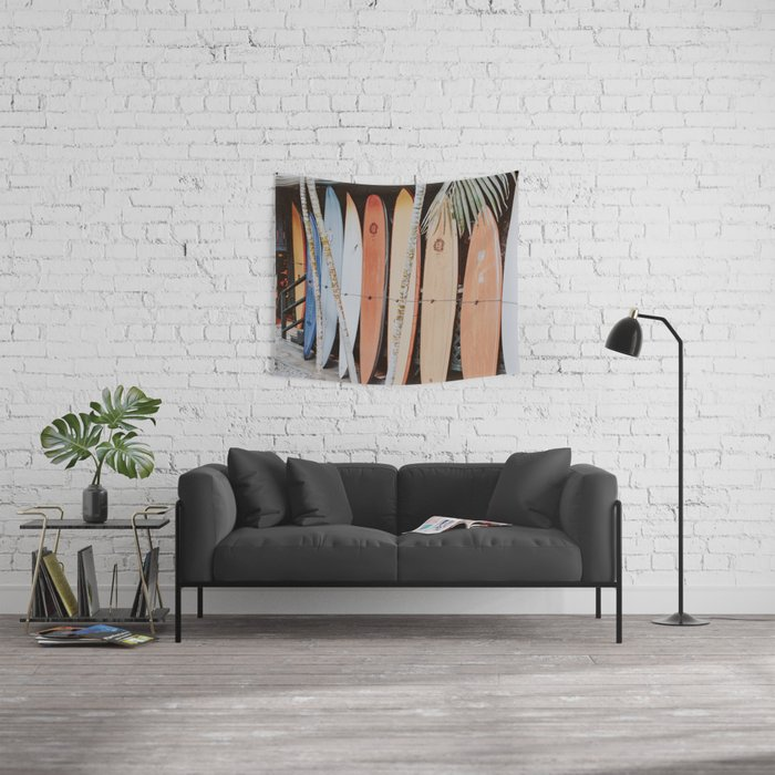 lets surf ii Wall Tapestry