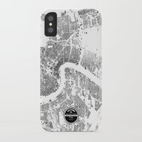new orleans iPhone & iPod Cases featuring NEW ORLEANS by Maps Factory