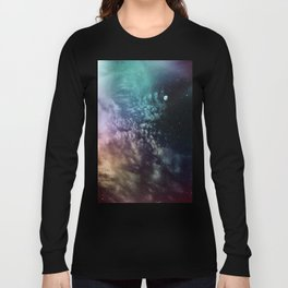 Polychrome Moon Long Sleeve T-shirt