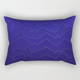 GoldBlueMountain Rectangular Pillow