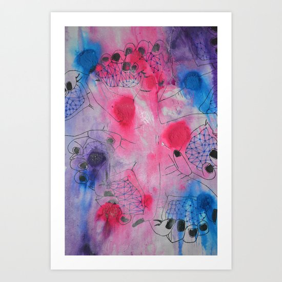 Hands Art Print