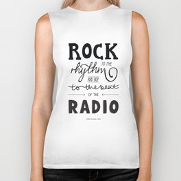 Kings of Leon hand-lettered print Biker Tank