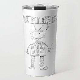 Robot Man Travel Mug