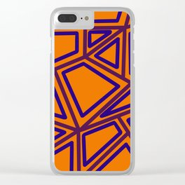 In Town - Yellowed Orange Clear iPhone Case