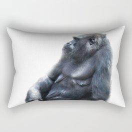 Sitting, waiting, wishing Rectangular Pillow