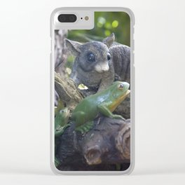 The Old Possum Clear iPhone Case