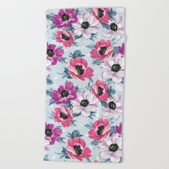 Spring is in the air #11 Beach Towel